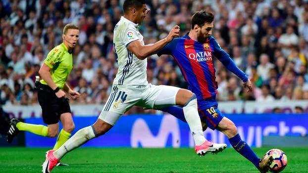 Jugadas, Messi Ronaldo, Ramos, y un trunfo sobre la hora.. Foto: AFP
