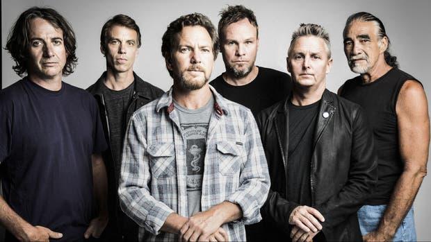 Pearl Jam y un nuevo regreso al país. La banda liderada por Eddie Vedder se presentó por última vez en 2015, en el Único de La Plata