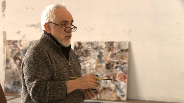 Eduardo Stupía en el film de Osvaldo Tcherkaski