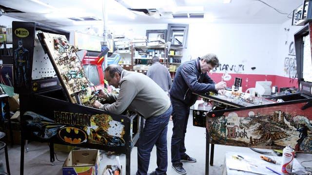 La restauración de equipos es también parte del hobby