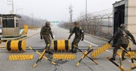 En la frontera, hay poco movimiento luego de que Pyongyang prohibiera la entrada de surcoreanos