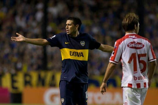 En la vuelta de Riquelme, Unión le ganó 3-1 al equipo de Bianchi en la Bombonera. Foto: AP