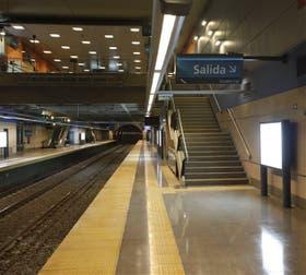 La estación San José de Flores está terminada