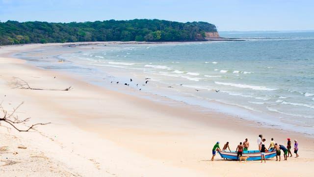 """Las """"convulsionadas"""" playas de Marajó, a dos horas en barco desde Belém"""