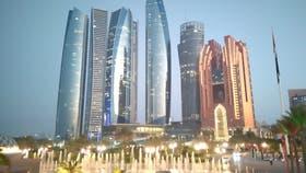 Las Etihad Towers, el complejo de edificios que define el perfil de Abu Dabi