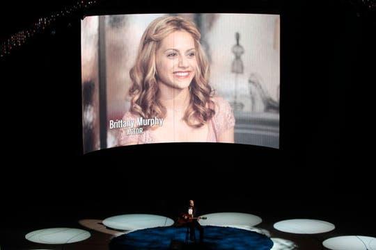 Brittany Murphy, en un homenaje.. Foto: Reuters