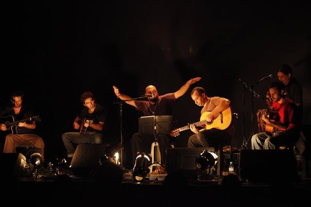 Falopa, una de las agrupaciones que surgió con un repertorio nuevo