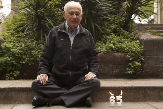Enrique Herrscher es el voluntario más antiguo de la YMCA