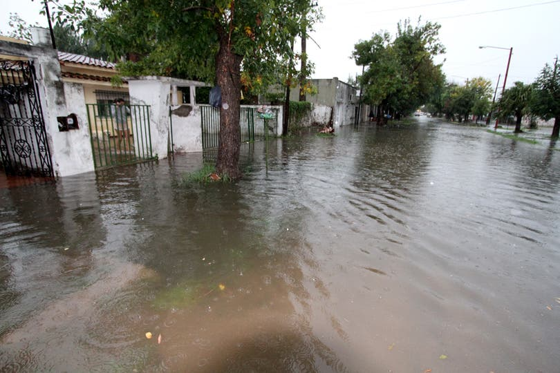 Barrio Chalet es un de los más afectados. Foto: LA NACION / Amancio Alem