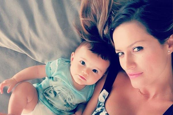 Erin tiene cinco meses y según Lola Ponce es la luz de su alma. Foto: /Instagram