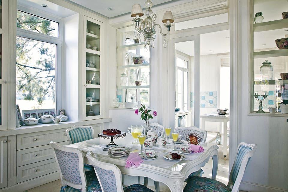 C mo decorar tu casa con el estilo shabby chic - Muebles de estilo romantico ...