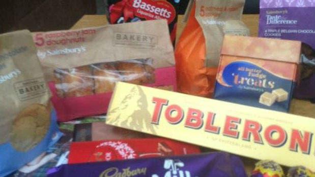 Gathercole llevó provisiones equivalentes a un consumo diario de 6.000 calorías para su viaje