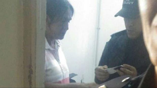 Milagro Sala, cuando fue detenida en Jujuy, hace casi seis meses