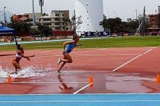 Belén Casetta, medalla de oro en los 3000 metros con obstáculos del Sudamericano Sub 23 de Atletismo