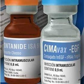 Cimavax, un medicamento contra el cáncer de pulmón desarrollado en Cuba.