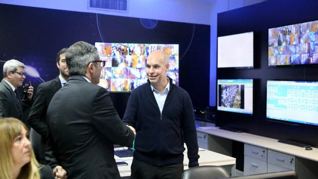 Larreta presentó el nuevo Centro de Monitoreo y Control del Juego de la Ciudad
