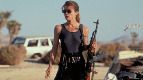 Linda Hamilton, como Sarah Connor