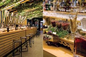 Tragos en clave picnic en un bar botánico