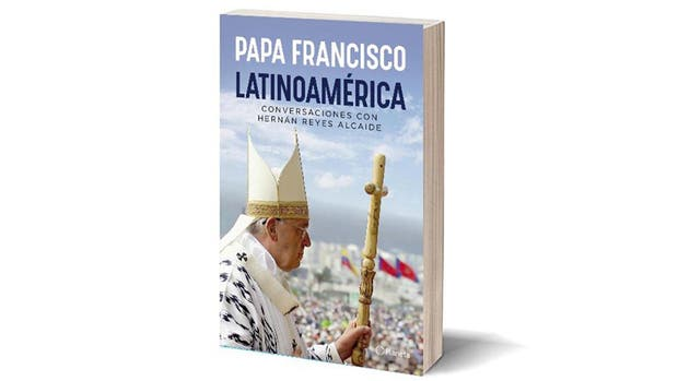 La tapa del libro de Francisco