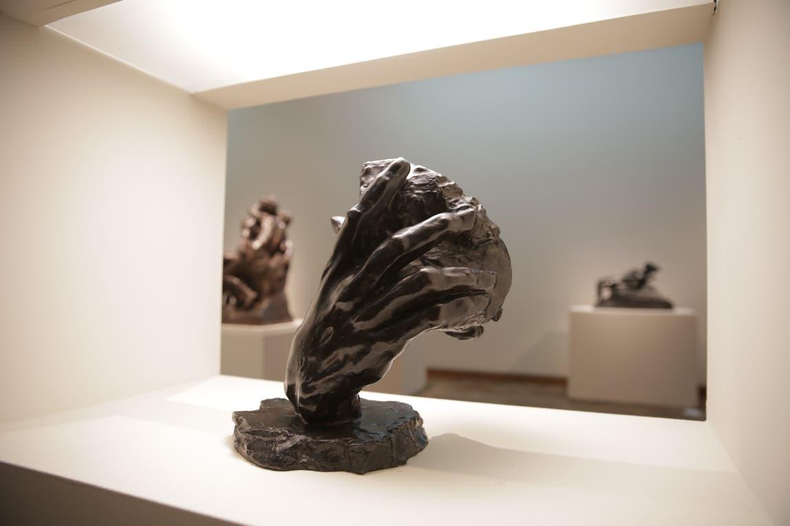 """""""La mano de Dios"""", de Rodin. Foto: LA NACION / Soledad Aznarez"""