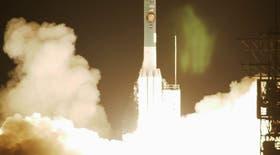 El lanzamiento de la sonda en Cabo Cañaveral