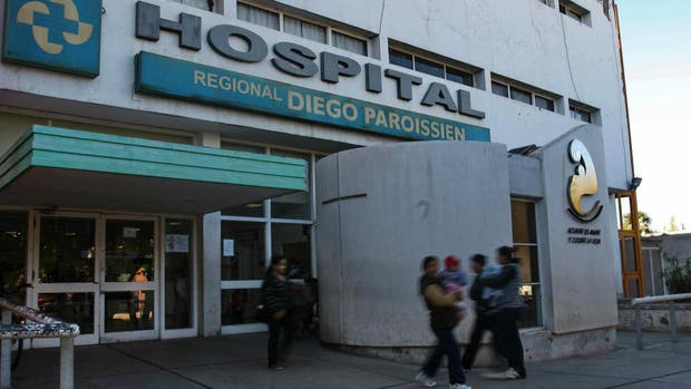 """El Hospital Regional """"Diego Paroissien"""", de Maipú, lugar donde la niña de diez años dio a luz"""