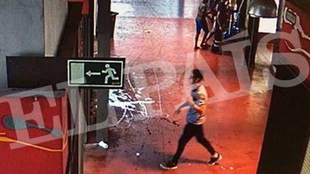 El sospechoso salió del mercado y la policía sospecha que se dirigió a la zona universitaria. Foto: Gza. El País