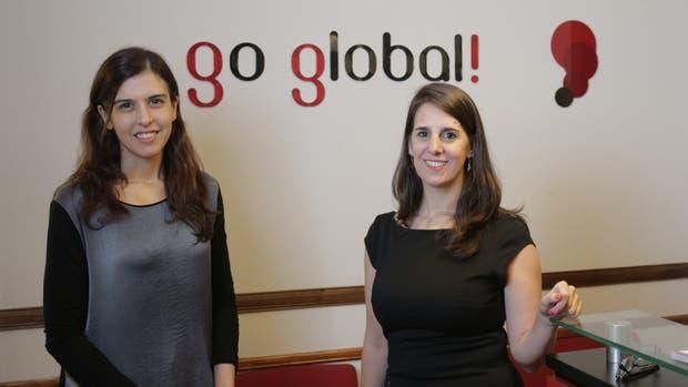 Paula Ferrari y Gabriela Roselló, fundadoras de Go Global