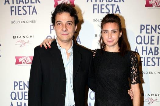 Dos protagonistas de lujo: Fernan Mirás y Valeria Bertuccelli en la premiere de Pensé que iba a haber fiesta. Foto: Gentileza TIFF