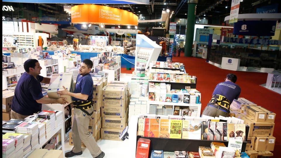 Arranca la 43a edición de la Feria Internacional del Libro (FIL) de Buenos Aires . Foto: LA NACION / Rodrigo Néspolo