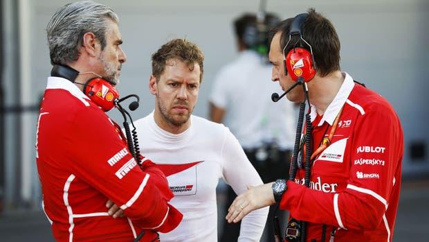 Vettel podría ser sancionado por la FIA