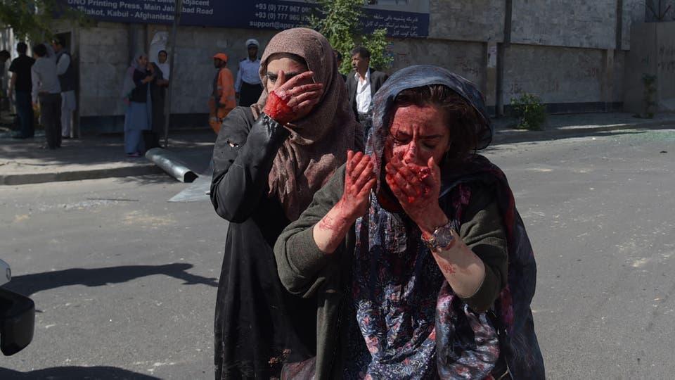 Atentado en Kabul: explotó una bomba durante Ramadán y hay al menos 80 muertos. Foto: AFP