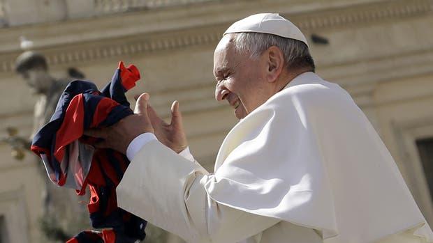El papa Francisco es hincha y socio de San Lorenzo