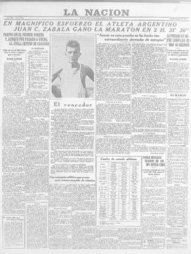 La portada de LA NACION del 8 de agosto de 1932