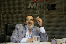 Lanata festejó al aire el triunfo de su programa y el liderazgo de Mitre sobre Radio 10