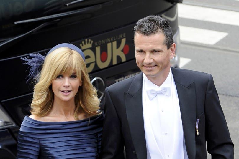 El ex campeón de tenis Richard Krajicek y su mujer, Daphne. Foto: Reuters