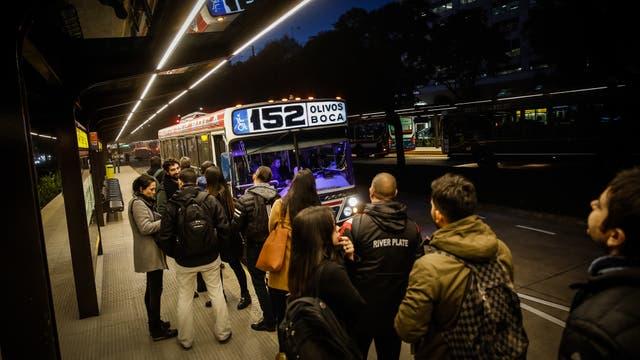 Inauguró el metrobus del Bajo. Foto: LA NACION / Santiago Filipuzzi