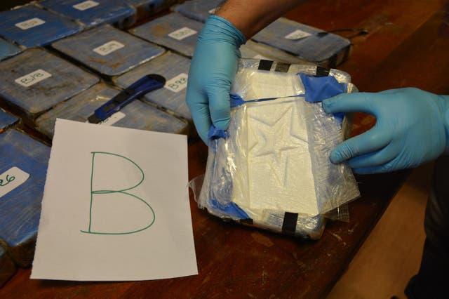 También se le asignó una letra a cada valija que estaban en un anexo de la embajada rusa en Buenos Aires