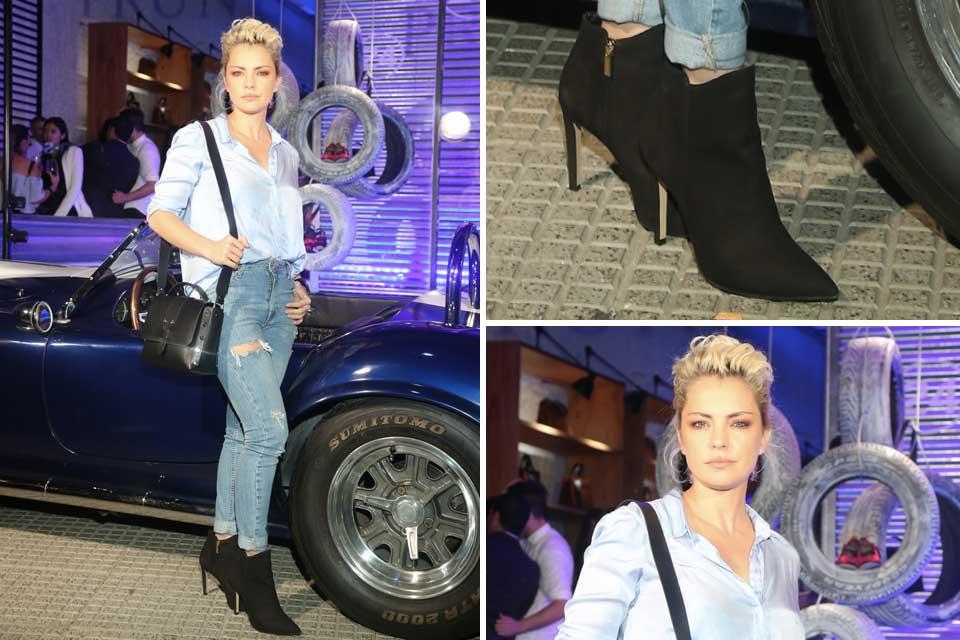 ¡Jean con jean! Esa es la clave de moda de Dolores Fonzi a la hora de armar un outfit; ¡Diosa absoluta!. Foto: OHLALÁ!