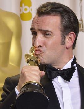 Jean Dujardin, mejor actor por El artista. Foto: AFP