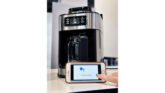 La cafetera Gourmia Barista Butler tiene Wi-Fi y es compatible con Google Assistant y Amazon Alexa