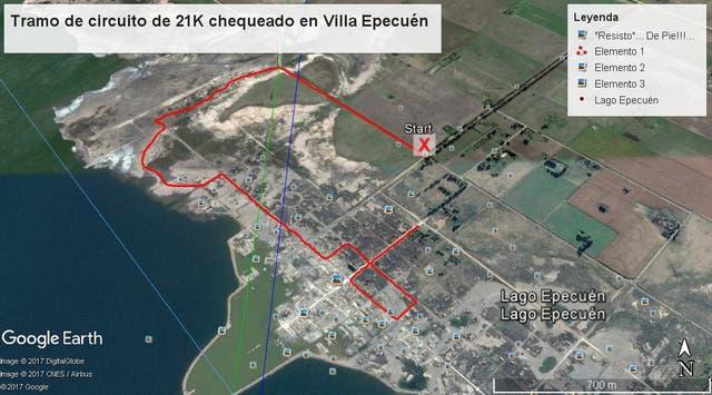 Circuito de 21km