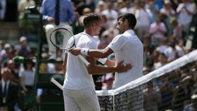 El serbio Novak Djokovic, número dos del mundo, venció al checo Adam Pavlasek en segunda ronda de Wimbledon