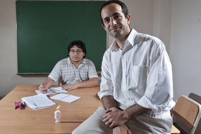 Gonzalo Oliva Beltrán fundó hace 8 años la Fundación Grupo San Felipe