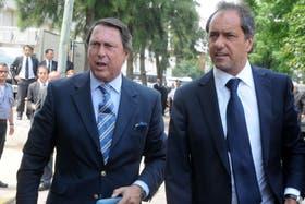 Casal, con el gobernador Scioli