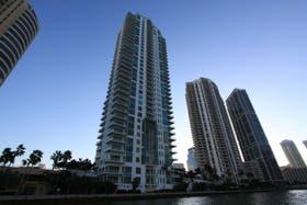 Condominios en el área de Brickell (Miami), donde el precio del metro cuadradro es similar al de Palermo o Recoleta