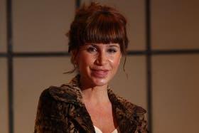 La actriz Florencia Peña