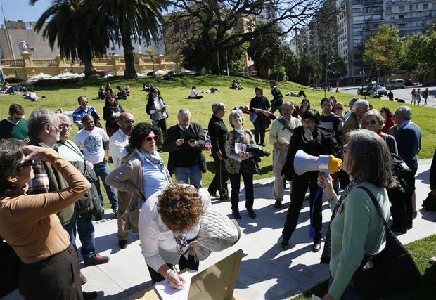 Vecinos juntaron firmas para impedir el avance del proyecto