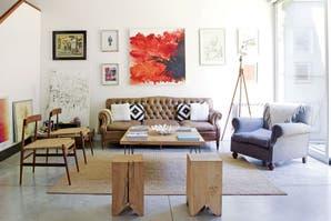8 estilos para decorar tu living