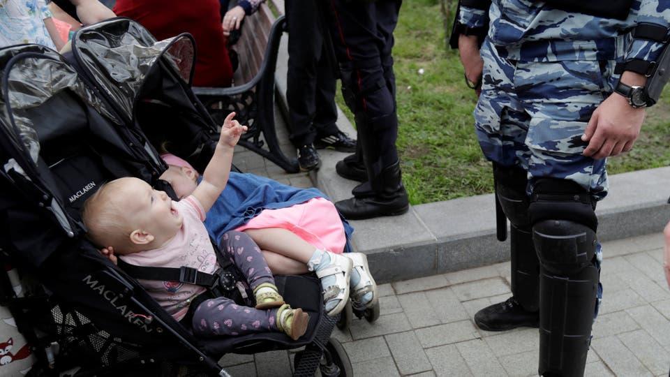 En una nueva muestra de desafío por parte de la oposición al Kremlin, que se movilizó para impedir o prohibir las protestas. Foto: Reuters